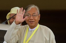 Htin Kyaw devient le nouveau président du Myanmar