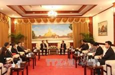Une délégation de l'Académie des sciences sociales au Laos