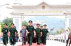 Échange d'amitié de la défense frontalière Vietnam-Chine