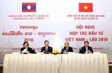 Conférence sur la coopération Vietnam-Laos dans l'investissement