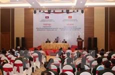 Bilan du travail de densification des bornes frontalières Vietnam-Laos