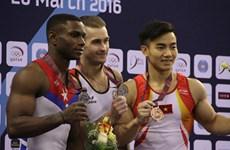 Pham Phuoc Hung en bronze à la Coupe du monde de gymnastique à Doha