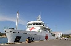 Le navire-hôpital vietnamien HQ-561 prêt pour l'exercice naval KOMODO 2016