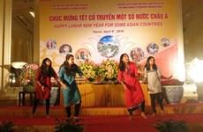 Célébration du Nouvel An theravada à Hanoi