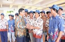 Rapatriement de 18 pêcheurs vietnamiens arrêtés en Indonésie