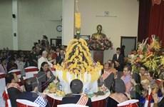Boun Pi May lao, fêtes du Nouvel An lao, célébrées à Hanoi