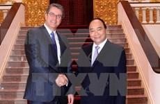 Le Premier ministre reçoit le directeur général de l'OMC
