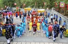 La Fête du temple des rois Hung célébrée dans le pays
