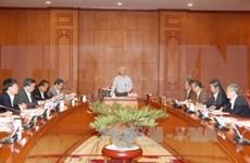 Le leader du PCV demande d'accélérer le traitement de grandes affaires de corruption
