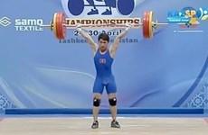Un haltérophile vietnamien remporte deux médailles aux Championnats d'Asie