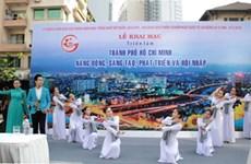 Expositions à Ho Chi Minh-Ville à l'occasion du 30 avril et du 1er mai