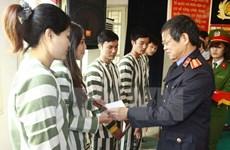 Hanoi : amnistie de détenus à l'occasion du 41e anniversaire de la Réunification nationale