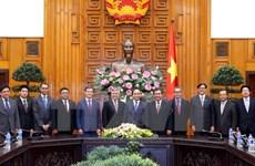 Le Premier ministre Nguyen Xuan Phuc reçoit les ambassadeurs de neuf pays de l'ASEAN
