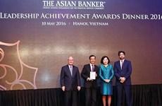 Trois banques vietnamiennes primées par The Asian Banker