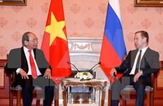 Entretien Nguyen Xuan Phuc – Dmitry Medvedev