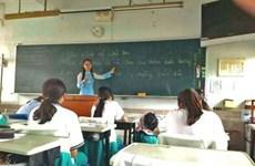 Un Club de vietnamien dans une école à Taïwan (Chine)