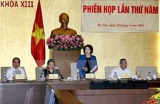 Cinquième réunion du Conseil électoral national