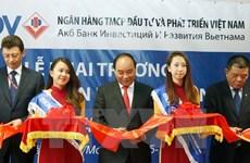 Le PM Nguyen Xuan Phuc assiste au Forum des entreprises Vietnam-Russie