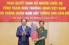 Le général Phan Van Giang nommé à la tête de l'état-major de l'armée