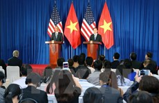 Conférence de presse internationale Vietnam-Etats-Unis
