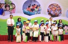 Lancement du Mois d'action national pour l'enfance 2016 à Quang Ninh