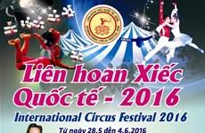 Ouverture du Festival international du cirque 2016