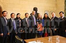 Renforcement de la coopération parlementaire Vietnam-Royaume-Uni