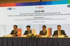 Bosch soutient le Vietnam dans la formation professionnelle