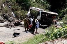 L'explosion de l'autocar au Laos serait déclenchée par des pétards