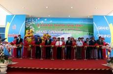 Inauguration d'une usine japonaise de fabrication de composants électroniques à Quang Ngai