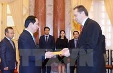 Le président vietnamien Tran Dai Quang reçoit de nouveaux ambassadeurs