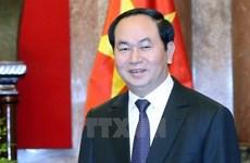 Le président du Vietnam commence sa visite d'Etat au Laos et au Cambodge
