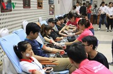 Des centaines de jeunes participent à la Fête du don de sang