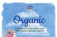 Le lait organique du Vietnam satisfait aux normes de l'USDA