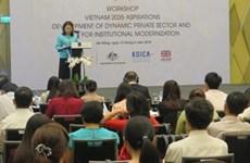 Vers un Vietnam prospère, innovant, équitable et démocratique en 2035