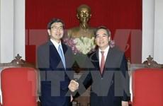 Des responsables vietnamiens rencontrent le président de la BAD