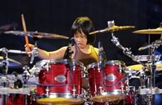 Le batteur Nguyên Trong Nhân, 9 ans et un talent fou