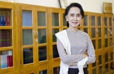La conseillère d'État et ministre des AE du Myanmar en visite en Thaïlande