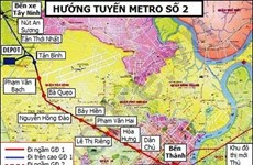 Ho Chi Minh-Ville va accélérer la construction de la ligne de métro N°2