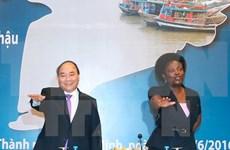 Le PM Nguyen Xuan Phuc au Forum du delta du Mékong 2016