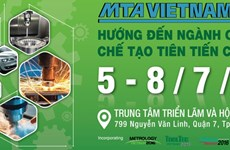 Plus de 410 entreprises participent à l'exposition MTA Vietnam 2016