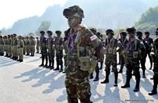 Exercice militaire commun Thamal entre la Thaïlande et la Malaisie