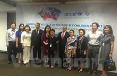 L'UNICEF publie son rapport sur la situation des enfants dans le monde 2016