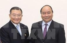 Le PM reçoit le président du groupe thaïlandais TCC