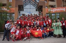 Jeux sportifs internationaux des enfants d'Asie : cinq médailles d'or pour le Vietnam