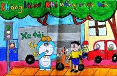 Concours « Doraemon et la sécurité routière » au Vietnam 2016