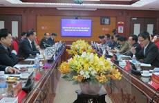 Le vice-président du Laos visite la province de Hai Duong