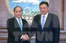 Le PM Nguyen Xuan Phuc rencontre le président du Parlement mongol