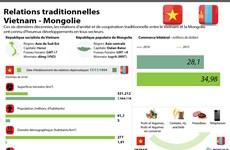 Relations de coopération traditionnelle Vietnam-Mongolie