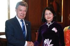 Vietnam et Colombie développent leur coopération en tous domaines